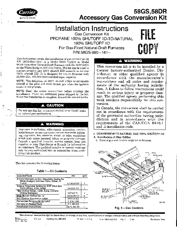 Array - carrier 58gs furnace owners manual  rh   unitearchivewh cf