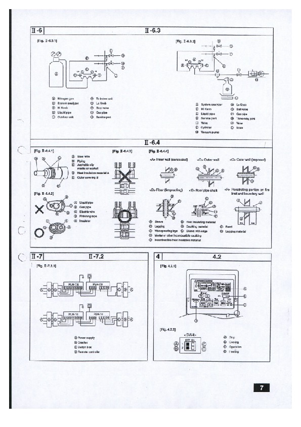 mitsubishi mr slim peh myb ducted air conditioner installation manual