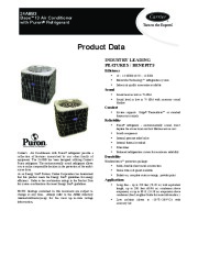 Carrier 24abb 3 4pd Heat Air Conditioner Manual page 1