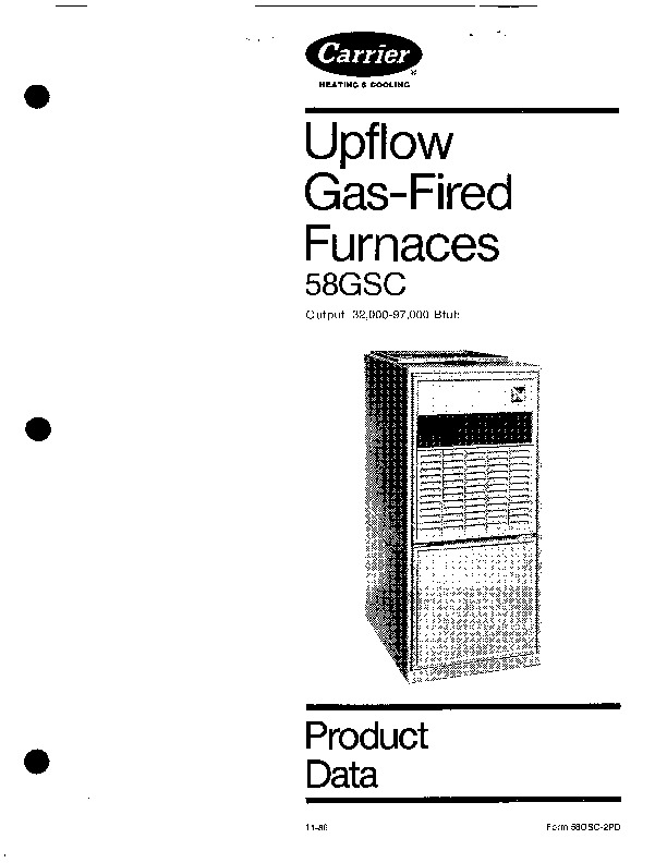 carrier 58gsc 2pd gas furnace owners manual