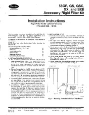 Carrier 58G 58S 1SI Gas Furnace Owners Manual page 1