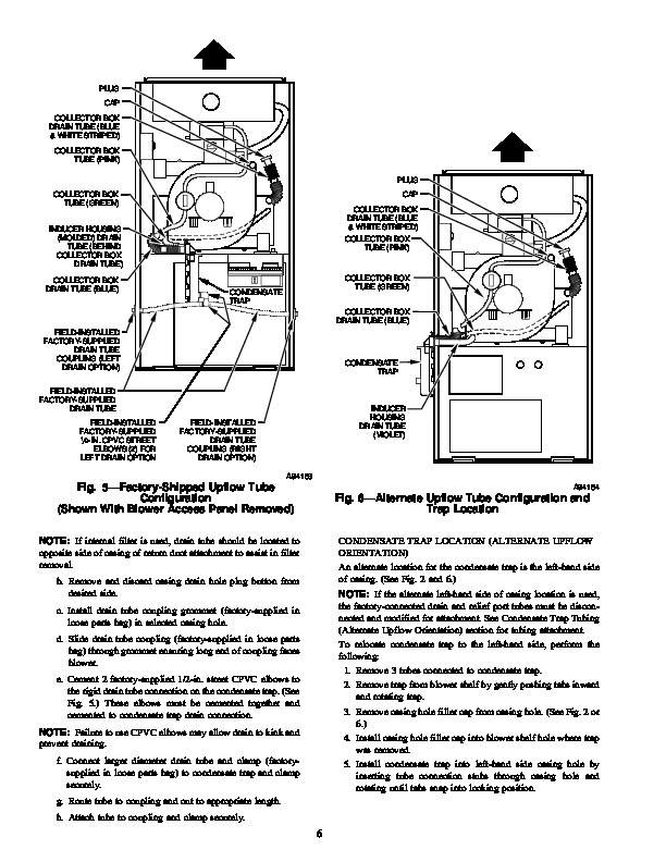 Carrier 58MCA 7SI Gas Furnace Owners Manual 6 carrier weathermaker sx manual 28 images carrier 58 series carrier 30ra wiring diagram at crackthecode.co