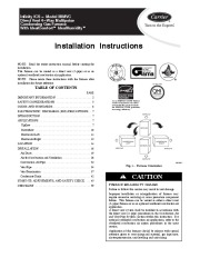 Carrier 58MVC 1SI Gas Furnace Owners Manual page 1