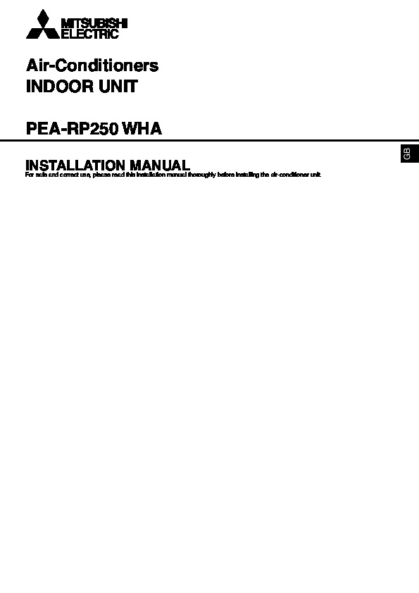 derby ducted air conditioning manual