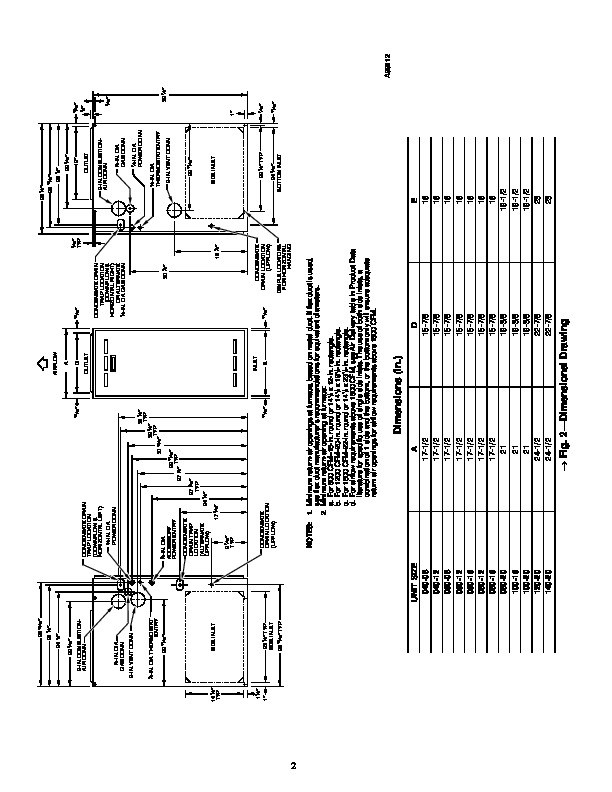 Carrier Fb4anf036 manual