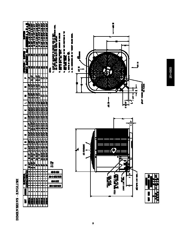 carrier 25hbb3 6pd heat air conditioner manual