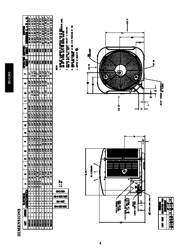 carrier 25hca3 3pd heat air conditioner manual