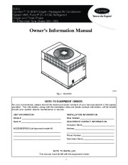 Carrier 50es 01 Heat Air Conditioner Manual page 1