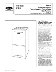 Carrier 58MCA 3PD Gas Furnace Owners Manual page 1
