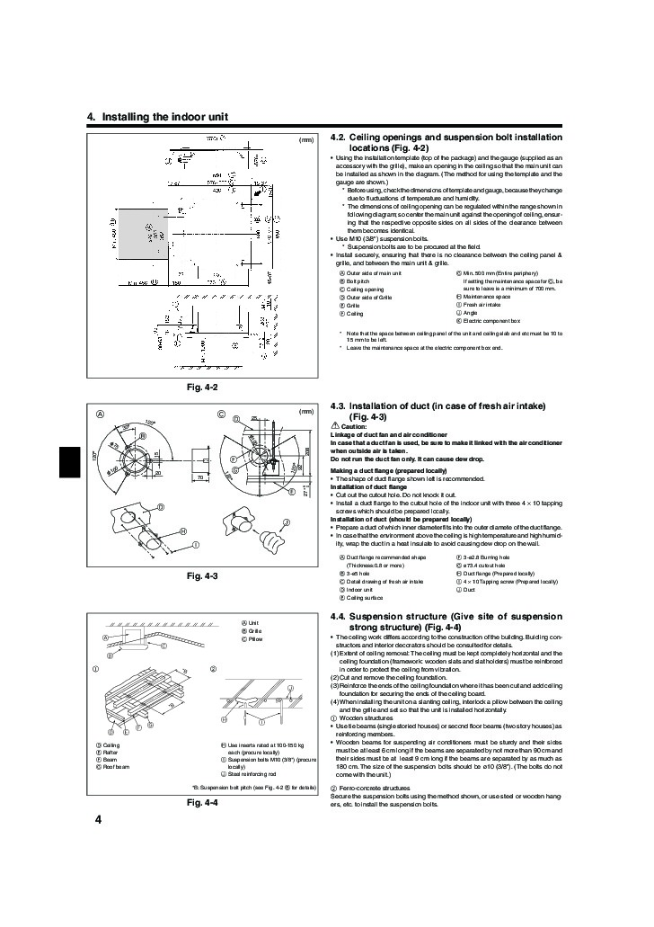 Mitsubishi mr slim bg79u163h01 slz a09 a12 a18ar ceiling cassette mitsubishi mr slim bg79u163h01 slz a09 a12 a18ar ceiling cassette air conditioner installation instructions manual page cheapraybanclubmaster Image collections