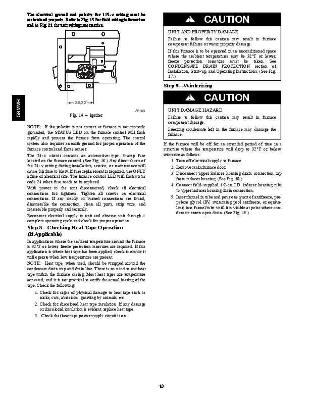 carrier 58mvb 2sm gas furnace owners manual rh hvac needmanual com Air Conditioner Manual Instruction Manual
