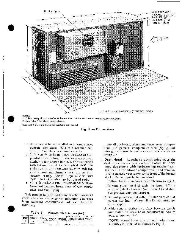 carrier furnace  owners manual for carrier furnace