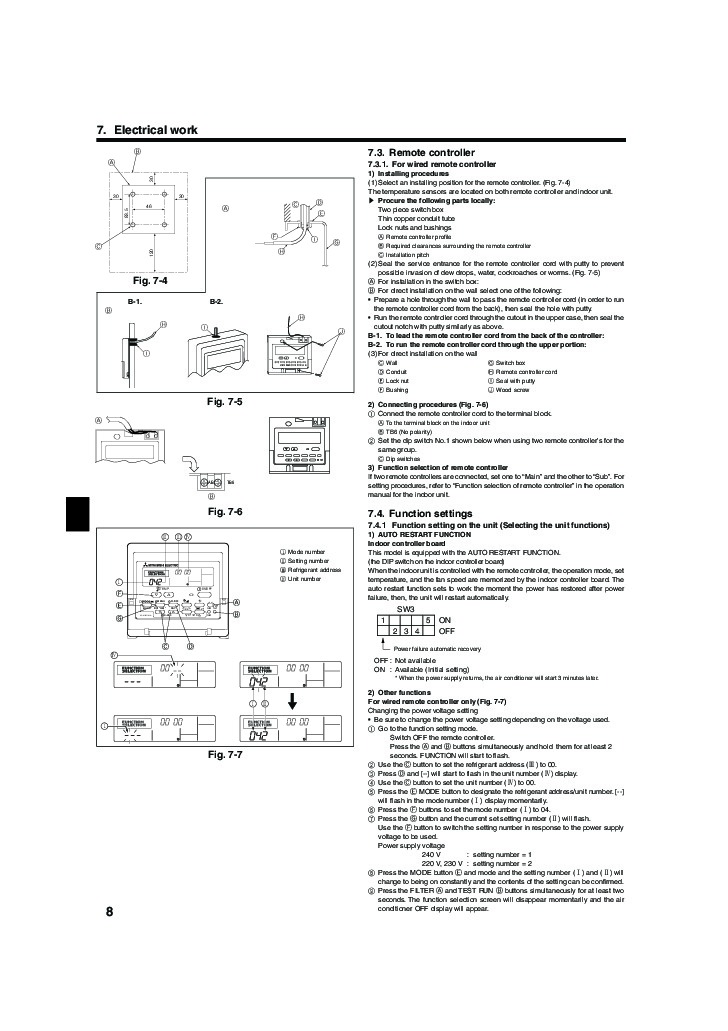 Ducted Air Conditioning Mitsubishi Ducted Air Conditioning Manual