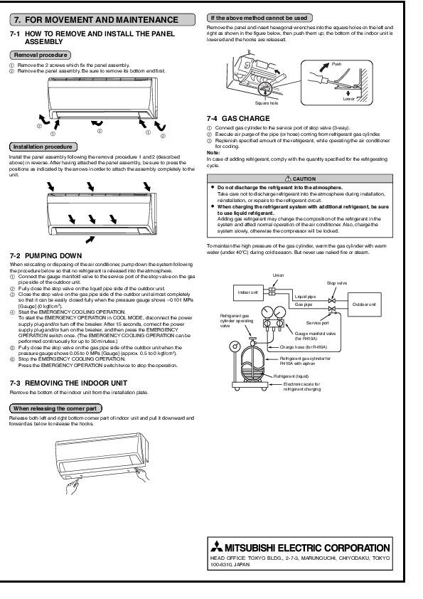 air conditioning unit mitsubishi air conditioning unit manual rh airconditioningunitzurasuna blogspot com Samsung Mini Split Air Conditioner Attic Air Conditioner Installation Split Hose