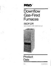 Carrier 58DP 58DR 1PD Gas Furnace Owners Manual page 1