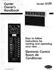 Carrier 51 79 Heat Air Conditioner Manual page 1