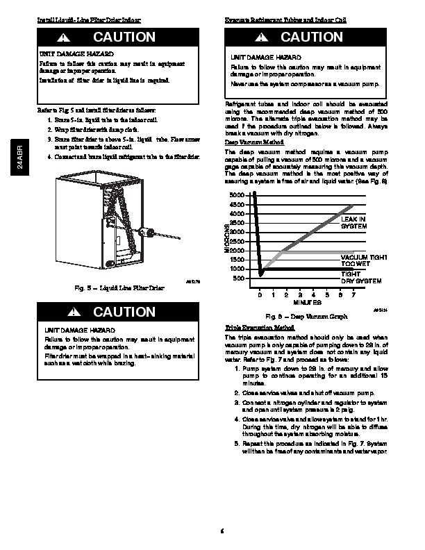 Carrier 24abr 2si Heat Air Conditioner Manual Manual Guide