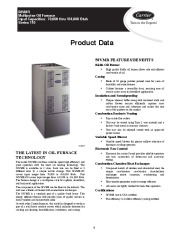 Carrier 58VMR 3PD Gas Furnace Owners Manual page 1