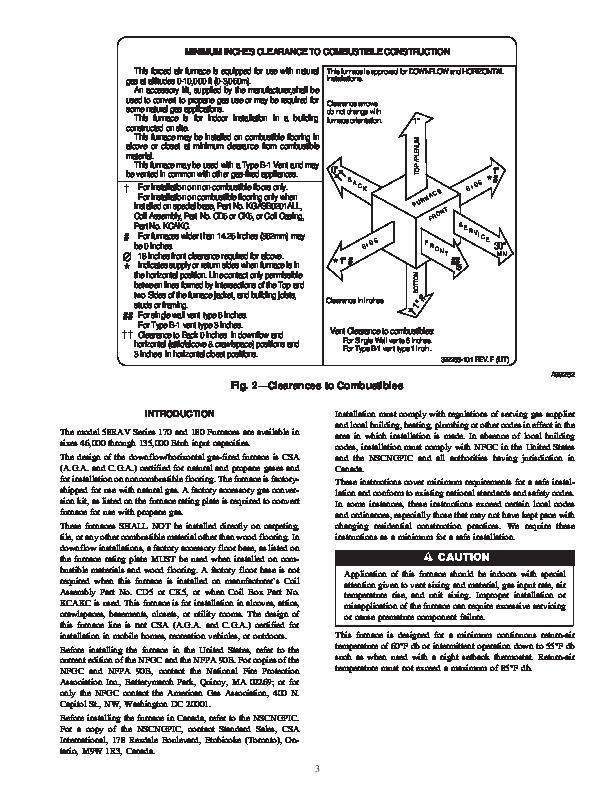 Carrier fx4d owner Manual