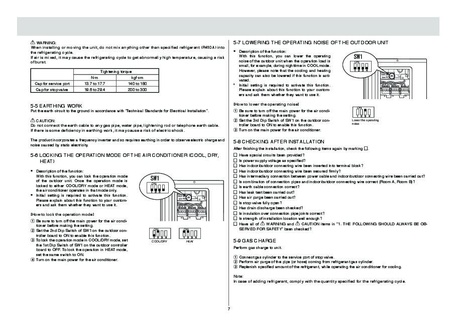 mitsubishi mitsubishi mt210d 210 operators manual