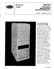 Carrier 58DP 58DR 3PD Gas Furnace Owners Manual page 1