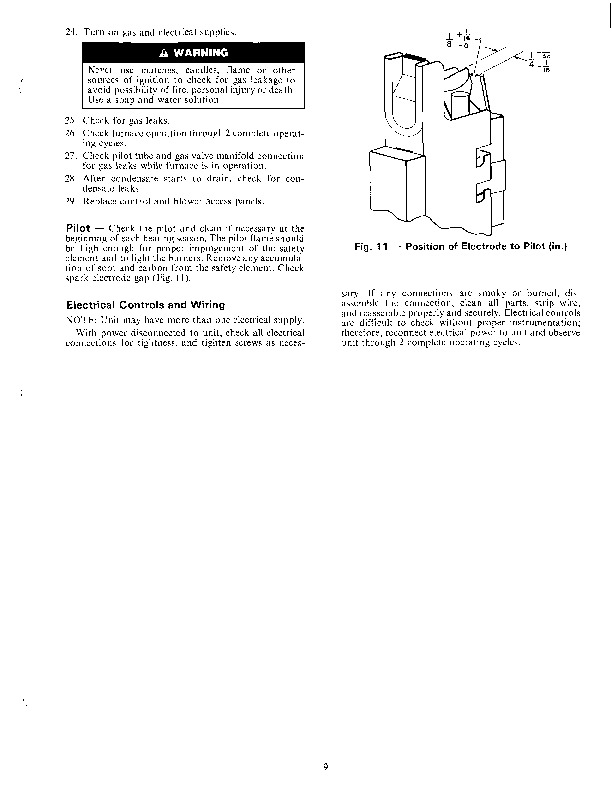 Owners manual for Carrier apu