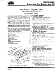 Carrier 58GSC 2SI Gas Furnace Owners Manual page 1