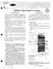 Carrier 58ES 2SI Gas Furnace Owners Manual page 1