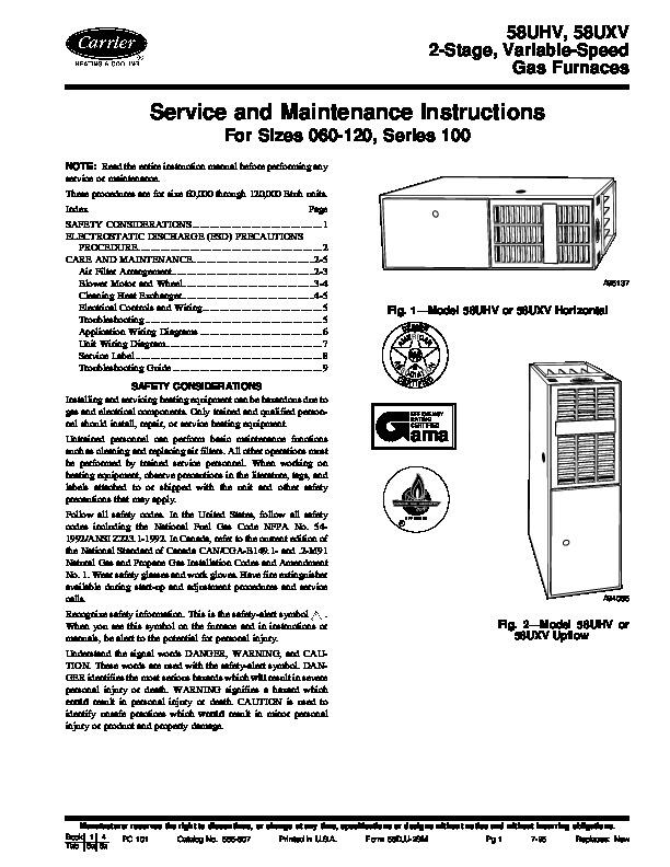 carrier hvac maintenance procedures handbook pdf
