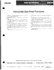 Carrier 58CH 2GS Gas Furnace Owners Manual page 1