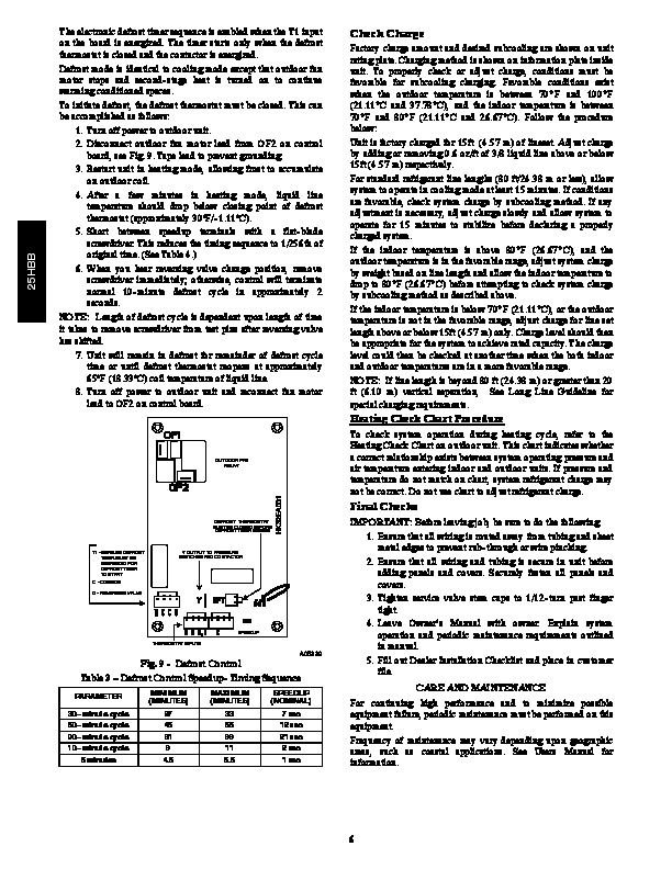 Carrier Air Conditioner maintenance Manual