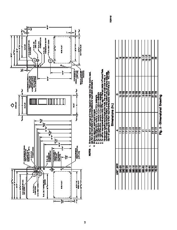 Manual For 58pav111 16 furnance on