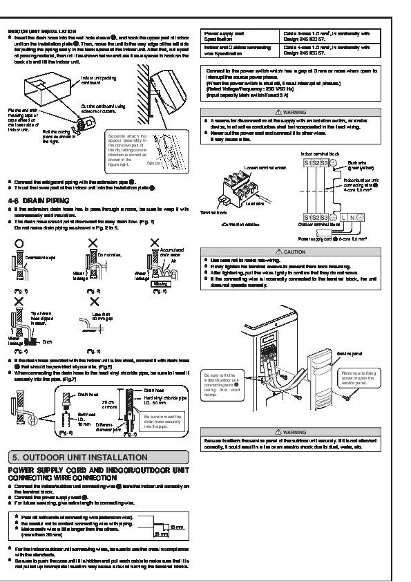 Mitsubishi Msz Fa25 Fa35va Muz Fa25 Fa35va Wall Air Manual Guide