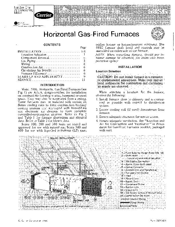 Gas Califont Service Manual