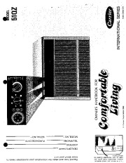 Carrier 51 121 Heat Air Conditioner Manual page 1