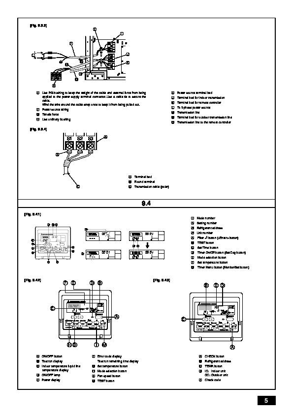 mitsubishi mr slim operating instructions
