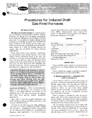 Carrier 58SS 1XA Gas Furnace Owners Manual page 1