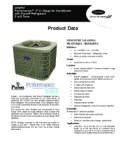 Carrier 24apa7 5pd Heat Air Conditioner Manual page 1