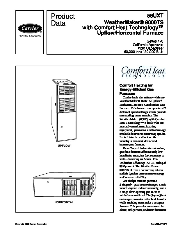 Owners Manual For Carrier Furnace together with Carrier 58cta 58ctx 7pd Gas Furnace Owners Manual as well 6twmb Furnace Filter Rudd Silhouette Ii Furnace likewise Hvac Diagrams together with Solarski Mechanical. on comfort air hvac