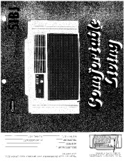 Carrier 51 27 Heat Air Conditioner Manual page 1
