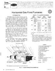 Carrier 58CH 7SI Gas Furnace Owners Manual page 1