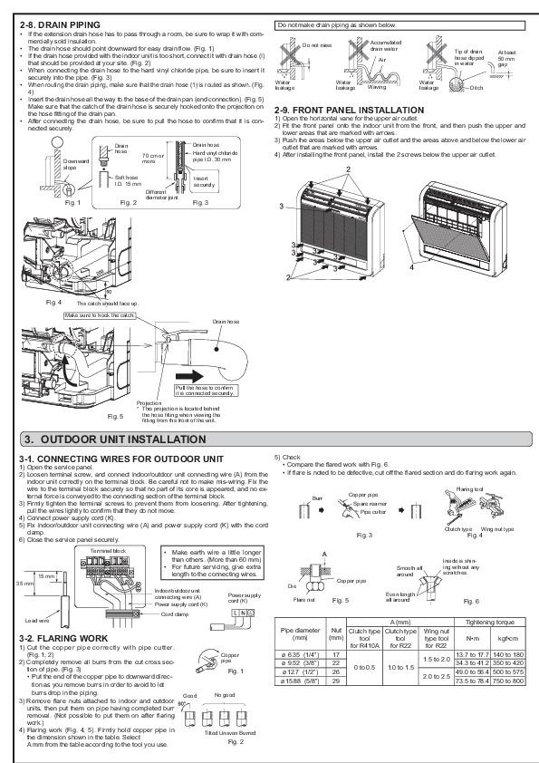 mitsubishi jg79a145h03 floor mounted air conditioner
