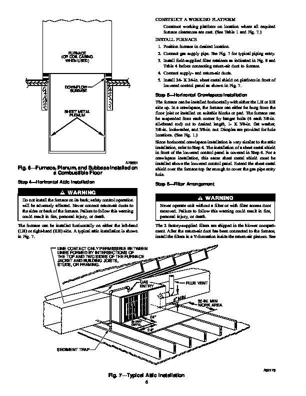 Carrier 58zav 5si Gas Furnace Owners Manual