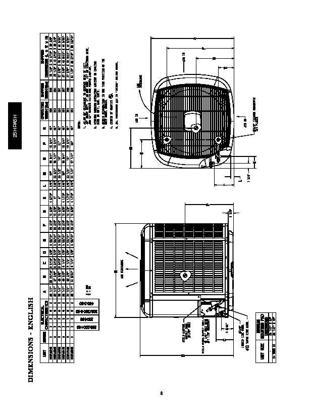 carrier 25hpa5h 3pd heat air conditioner manual