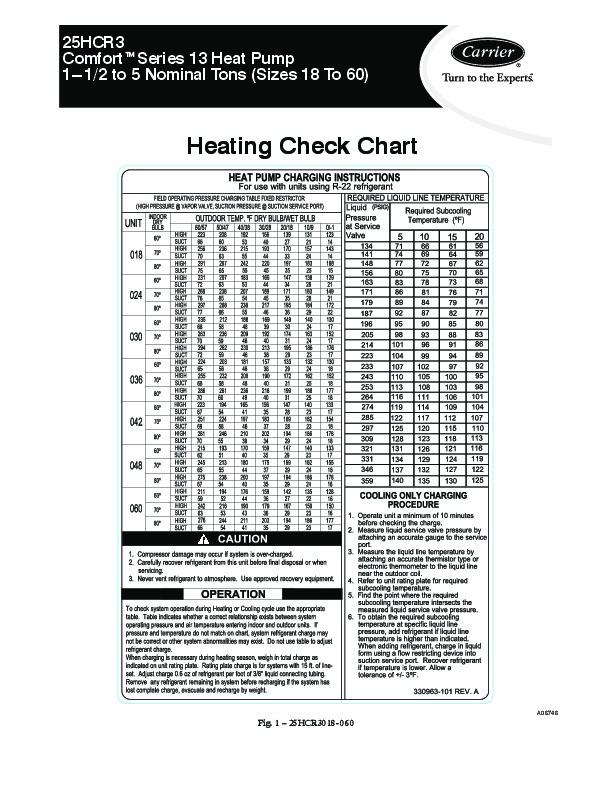 carrier 25hcr3 1hcc heat air conditioner manual carrier infinity heat pump owner's manual Carrier 3.5 Ton Heat Pump