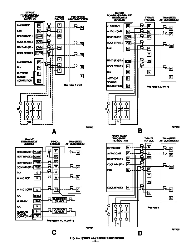 rheem condensing unit wiring diagram