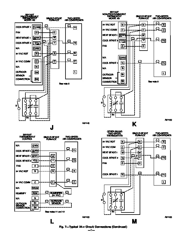 carrier bryant 598a 36 6 heat air conditioner manual rh needmanual com bryant air conditioner specifications bryant air conditioner specs