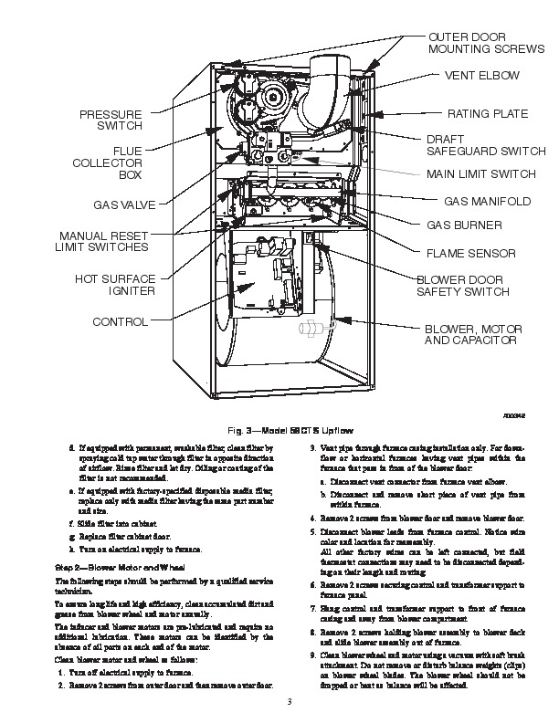 carrier furnace  carrier furnace gas