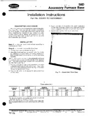 Carrier 58DRC 2SI Gas Furnace Owners Manual page 1