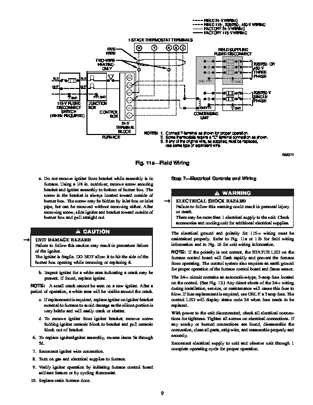 Fac107p1a Manual on
